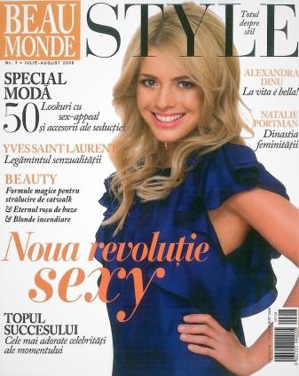 Beau Monde coperta Alex. Dinu iulie-august 2008-page-001